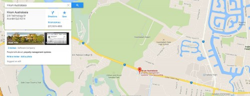 map showing hotel listing | Hotel Marketing Services | HiRUM