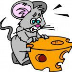 rat moving cheese