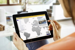 using iPad online booking