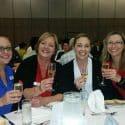 What a happy team! Natasha, Shirley, Rebecca & Liz represented HiRUM at the Trade Show
