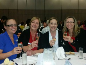 What a happy team! Natasha, Shirley, Rebecca & Liz represented HiRUM at the Trade Show