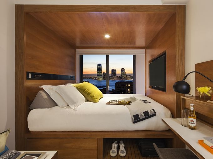 Hotel Rooms Are Shrinking And Millennials Love It