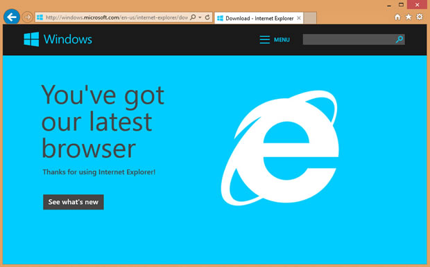 Please Ensure You Have Upgraded to Internet Explorer 11 | HiRUM