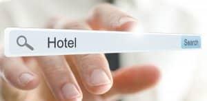 hotel in a digital search bar | increasing visibility iin digital marketing | HiRUM