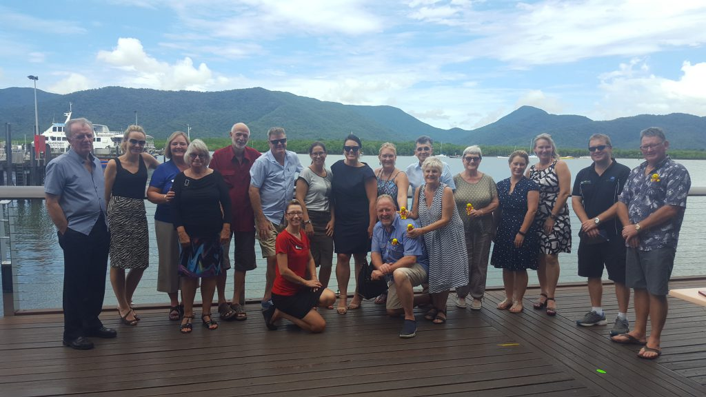 HiRUM FNQ Manager lunch