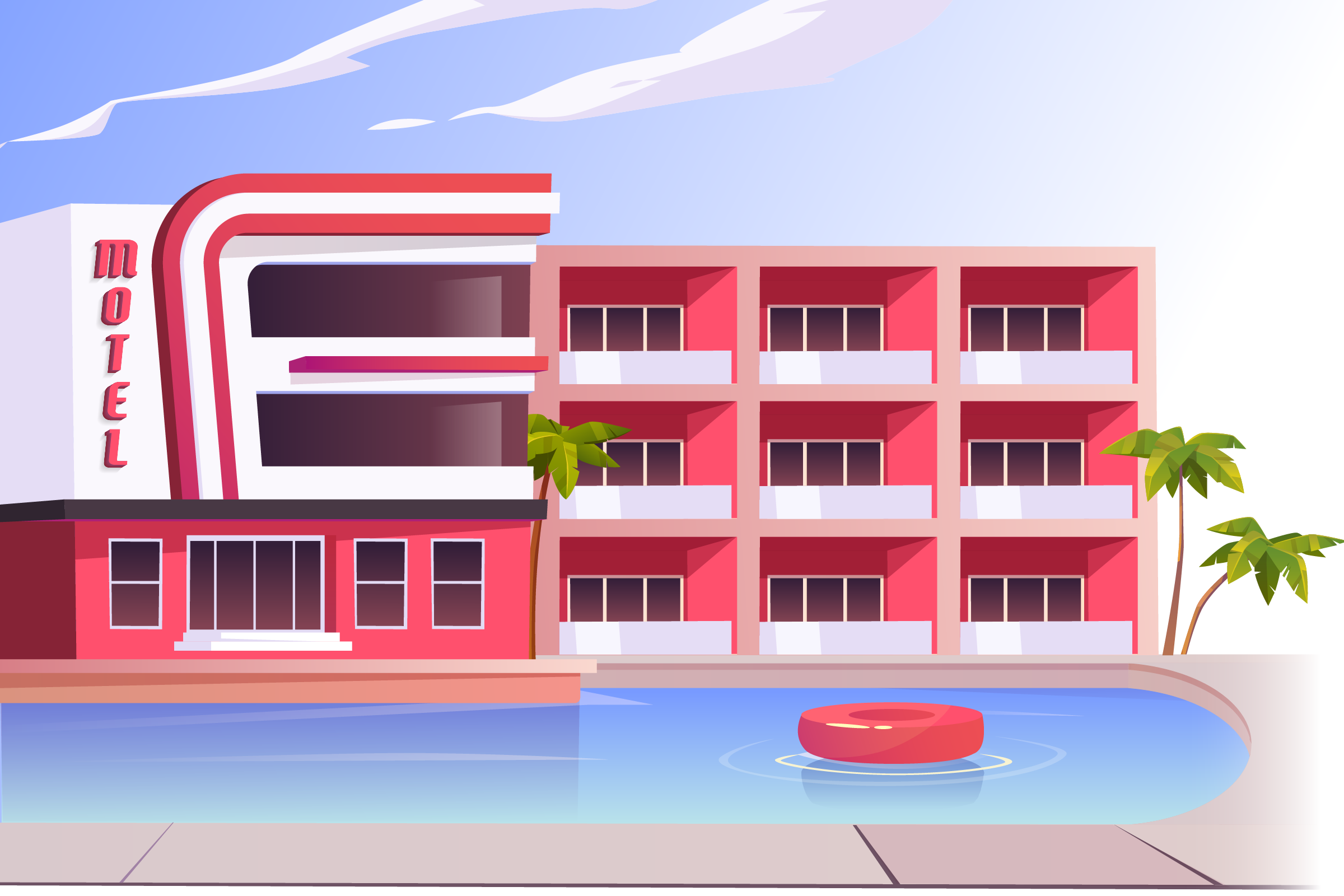 Motel software solutions: impression of a motel | HiRUM